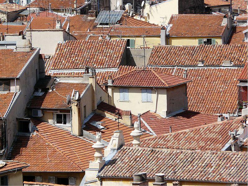 Toits du Vieux-Nice