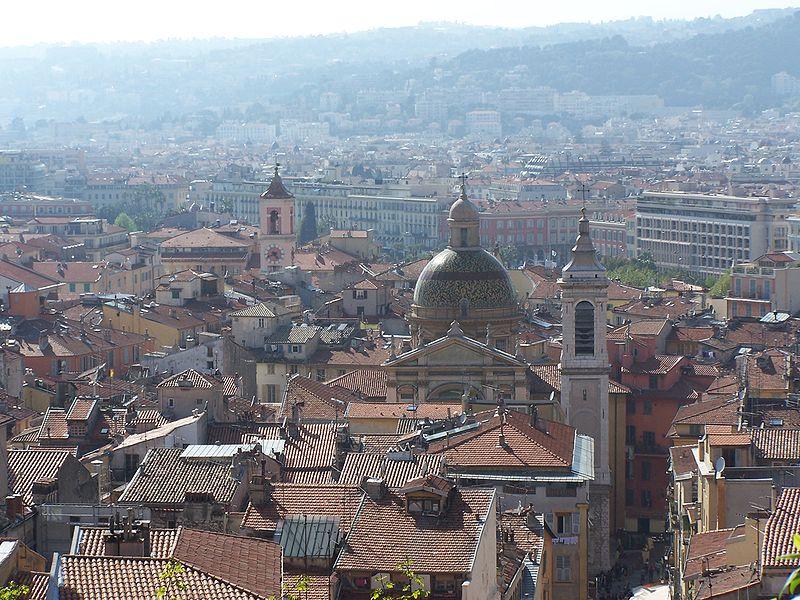 Vue du vieux Nice