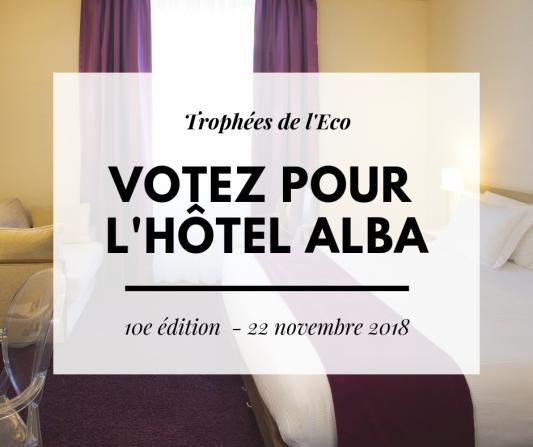 Trophees de l'Eco - Hôtel Alba