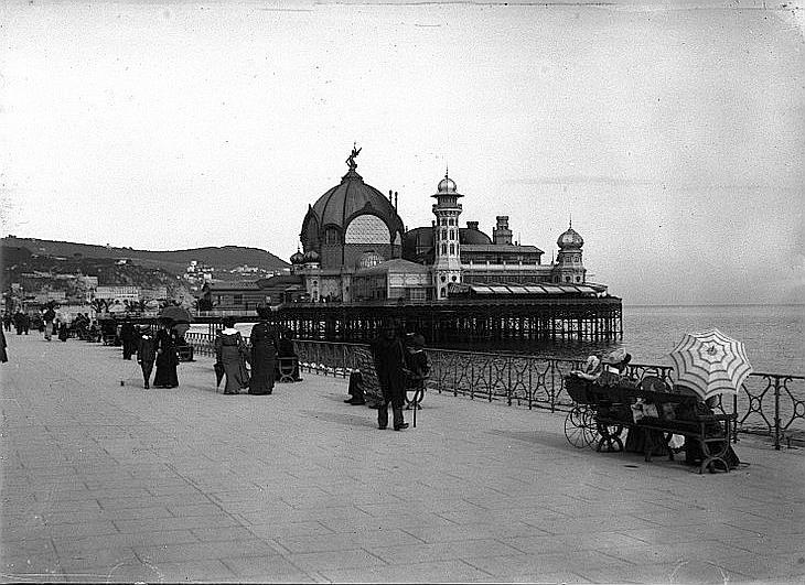 Nice : Casino et promenade des Anglais avril 1904